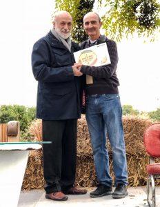 el cuiner Valentí Mongay de la Salseta i Carlo Petrini